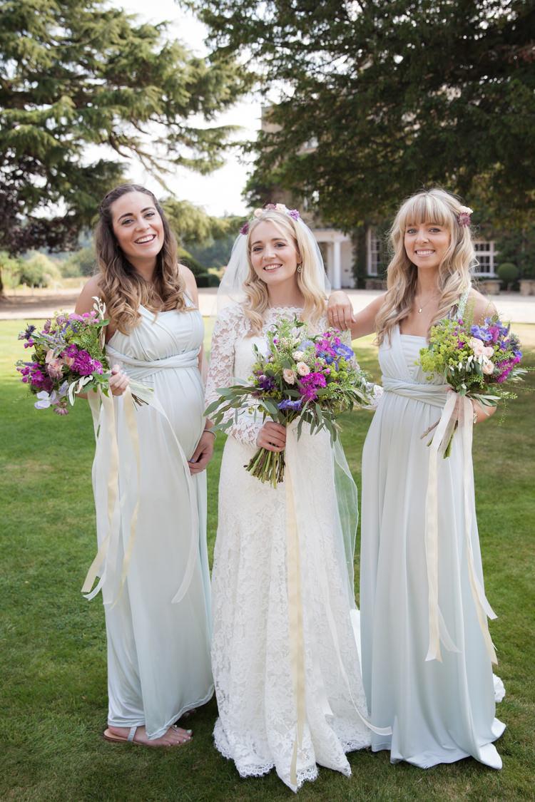 Multiway Bridesmaid Dresses Long Maxi Mint Green Pastel Summer Festival Country Estate Wedding http://kerryannduffy.com/
