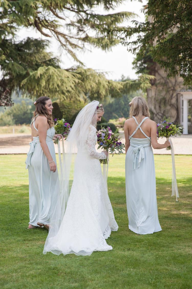 Multiway Bridesmaid Dresses Back Summer Festival Country Estate Wedding http://kerryannduffy.com/