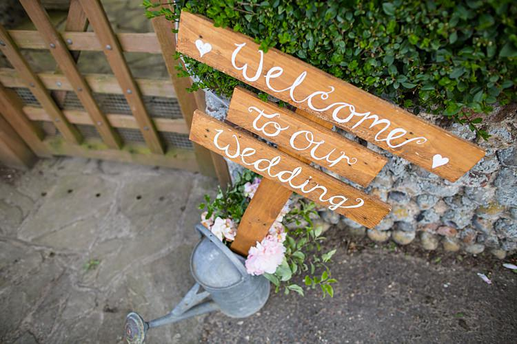 Wooden Welcome Sign Watering Can Country Rustic Picnic Marquee Wedding https://www.binkynixon.com/