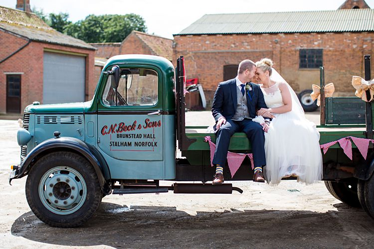 Truck Transport Country Rustic Picnic Marquee Wedding https://www.binkynixon.com/