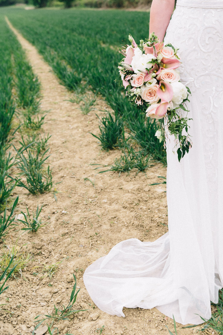Blush Pink Wedding Flowers Bouquets Calla Lily http://www.eclection-photography.com/