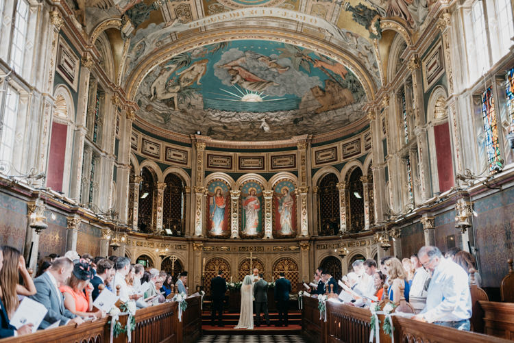 Royal Holloway University of London Chapel Ceremony Boho Fun Loving University Wedding http://andrewbrannanphotography.co.uk/