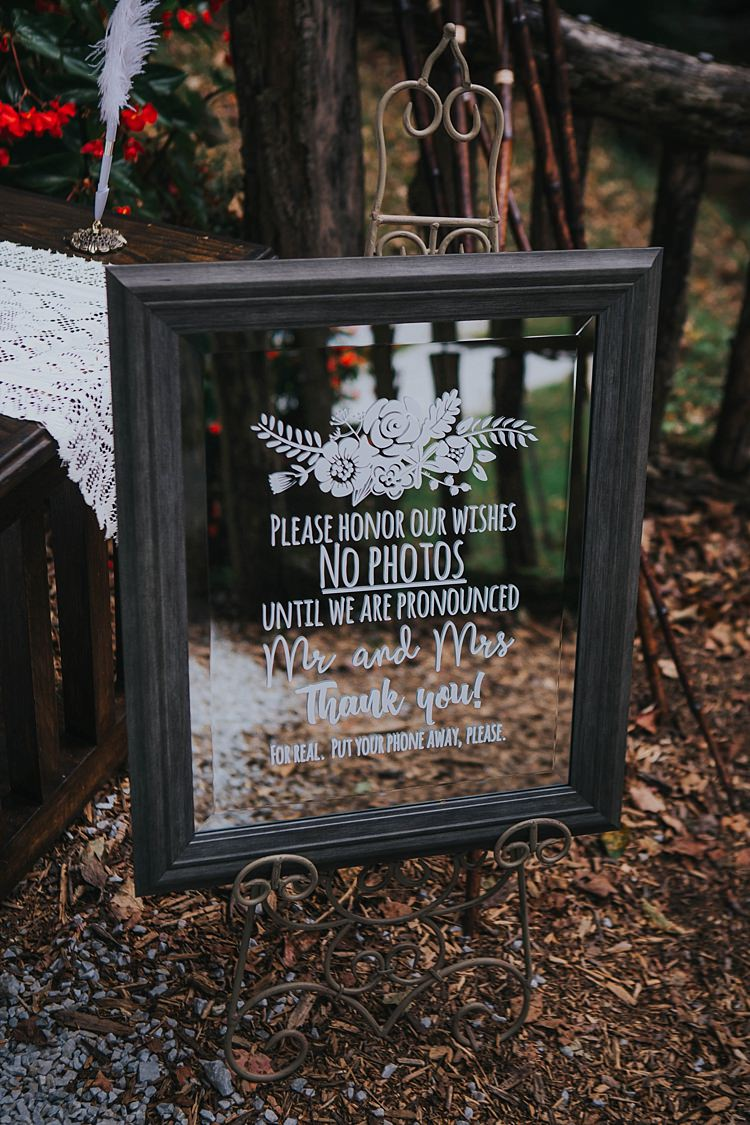 Unplugged Wedding Planning Ideas Help Advice http://www.taylorparkerphotography.com/