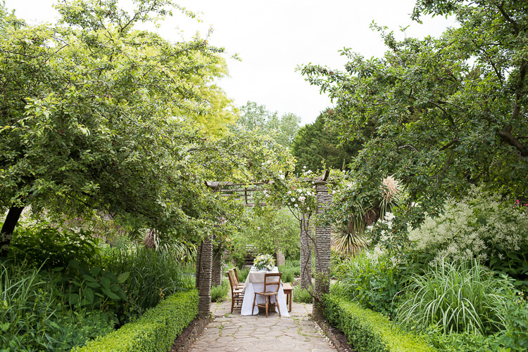 The Rookery Garden Table Setting Wooden Chairs Pretty Urban Nature Wedding Ideas http://www.fionasweddingphotography.co.uk/