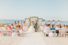 Whimsical Pastel Key West Beach Wedding http://kristenbooth.net/