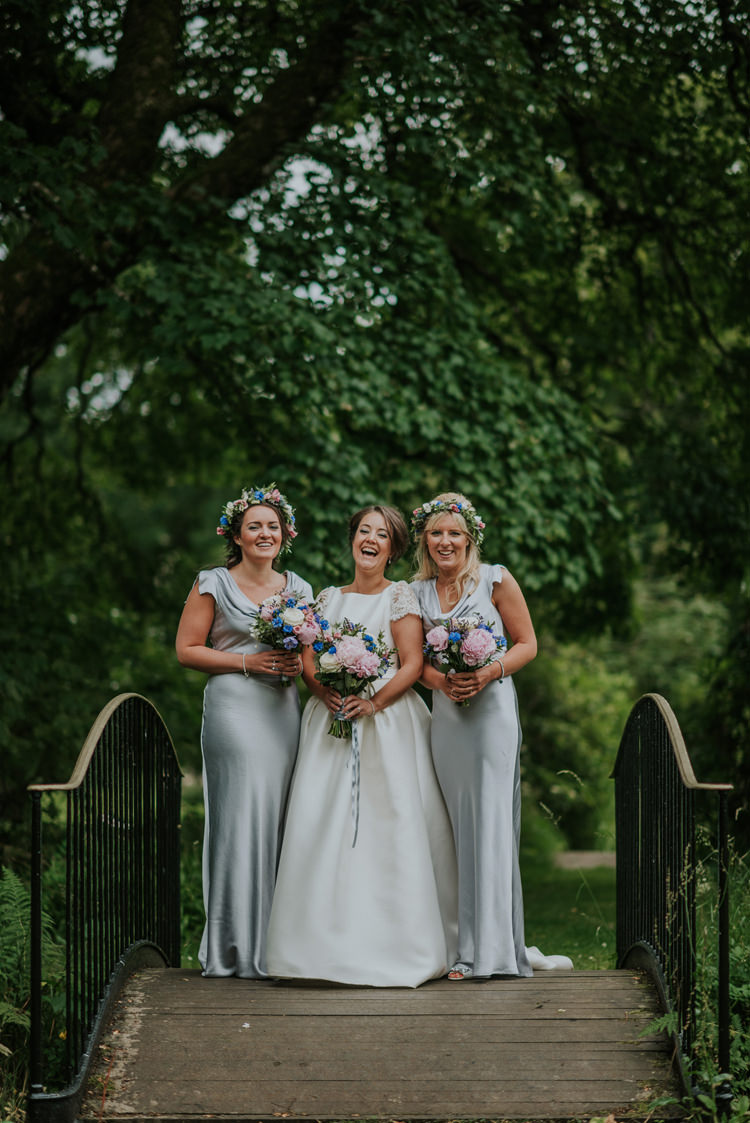 Long Grey Silk Bridesmaid Dresses Maxi Ghost Enchanting Cornflower Blue Marquee Wedding https://burfly.co.uk/