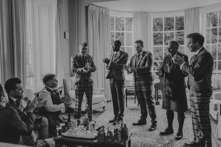 Enchanting Cornflower Blue Marquee Wedding https://burfly.co.uk/