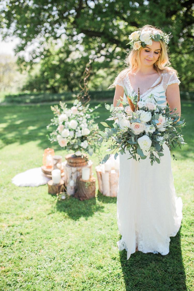 Bohemian Garden Greenery Wedding Ideas http://www.storytellerphotography.co.uk/