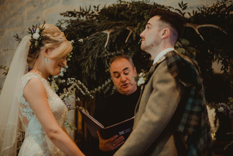 Backdrop Ceremony Flower Greenery Arch Whimsical Modern Rustic Barn Wedding http://photomagician.co.uk/
