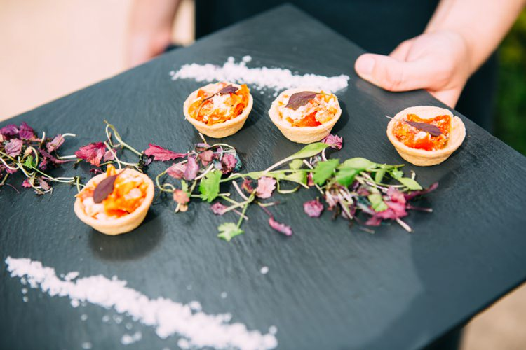 Canapes Colourful Mexican Garden Wedding http://jennifersmithphotography.co.uk/