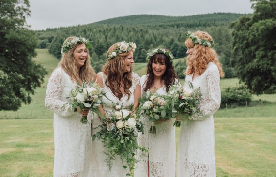 Enchanting Ancient Forest Wedding http://donnamurrayphotography.com/
