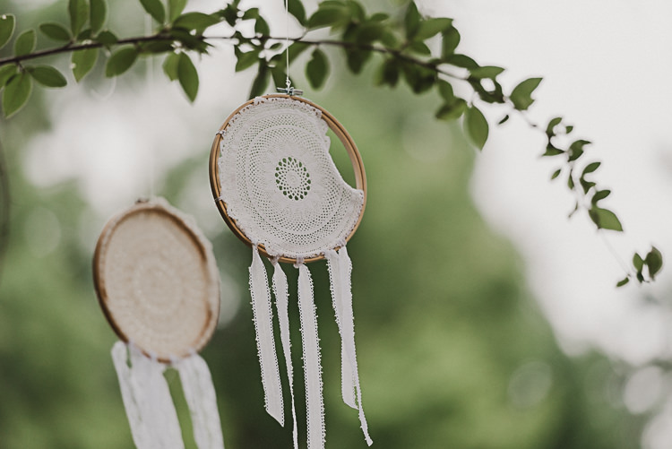 Dream Catchers Stylish Woodland Tipi Wedding Flower Arch https://willpatrickweddings.com/