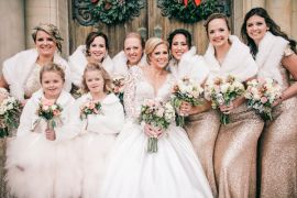 Festive Glamour Christmas New Years Eve Wedding http://www.stevendrayimages.com/