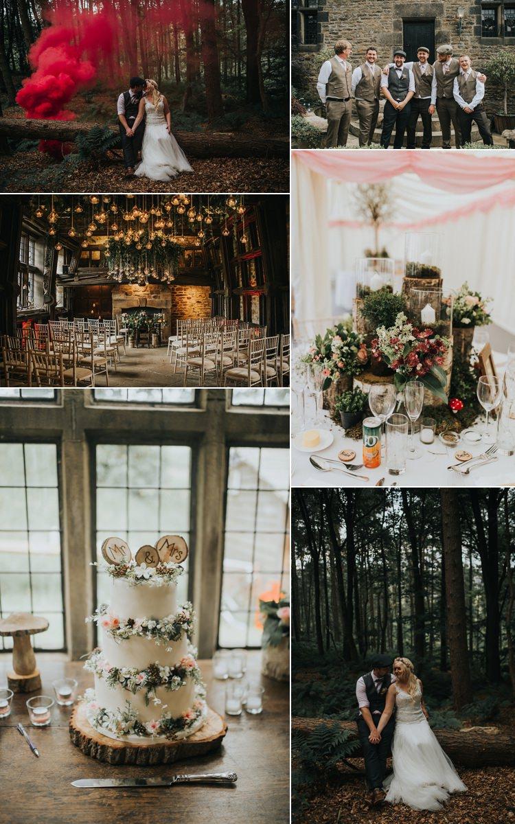 Woodland Boho Wedding Real Wedding Ideas Inspiration Trends 2017 2018 http://www.kerrydiamondphotography.com/