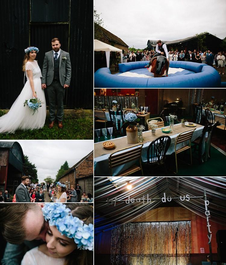 Indie DIY Wedding Real Wedding Ideas Inspiration Trends 2017 2018 http://www.danhoughphoto.com/