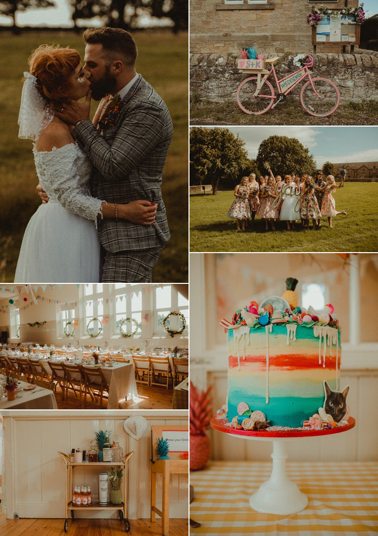Vintage Retro Real Wedding Ideas Inspiration Trends 2017 2018 http://www.belleartphotography.com/