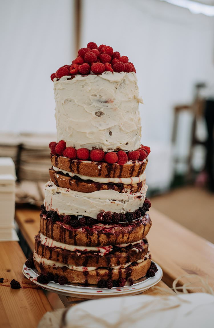 Naked Buttercream Cake Layer Sponge Fruit Wonky Rustic Peaky Blinders Vineyard Wedding Yorkshire https://www.kazooieloki.co.uk/