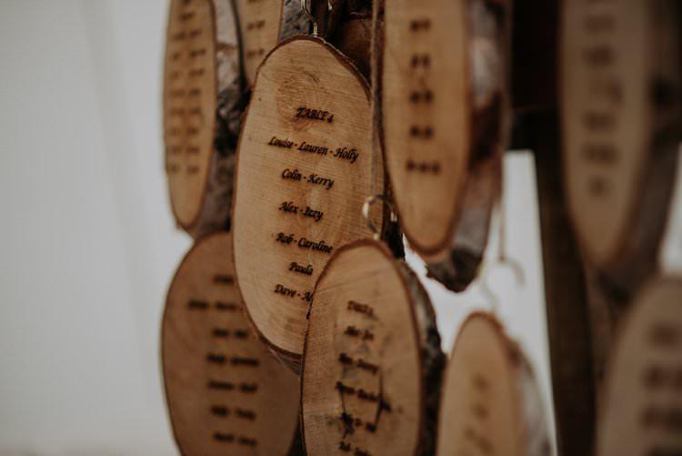 Log Slice Wooden Seating Plan Table Chart Rustic Peaky Blinders Vineyard Wedding Yorkshire https://www.kazooieloki.co.uk/