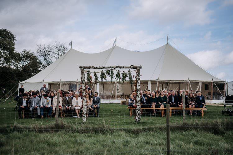 Marquee Farm Outdoor Ceremony Rustic Peaky Blinders Vineyard Wedding Yorkshire https://www.kazooieloki.co.uk/