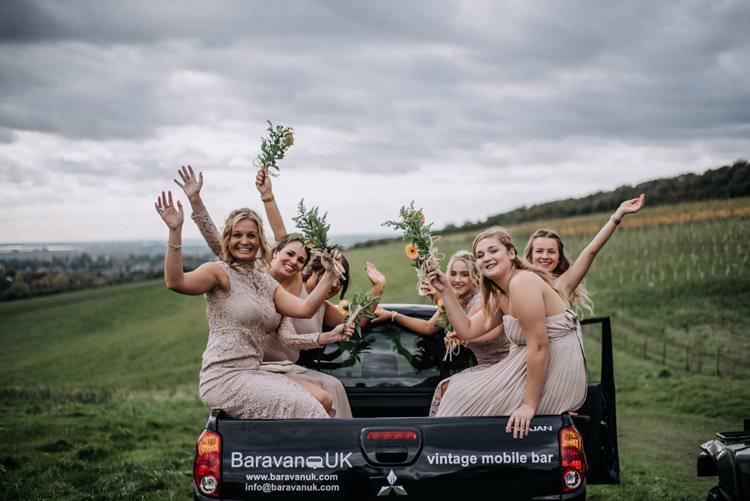 Mismatched Nude Bridesmaid Dresses Rustic Peaky Blinders Vineyard Wedding Yorkshire https://www.kazooieloki.co.uk/