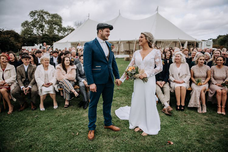 Outdoor Farm Ceremony Rustic Peaky Blinders Vineyard Wedding Yorkshire https://www.kazooieloki.co.uk/