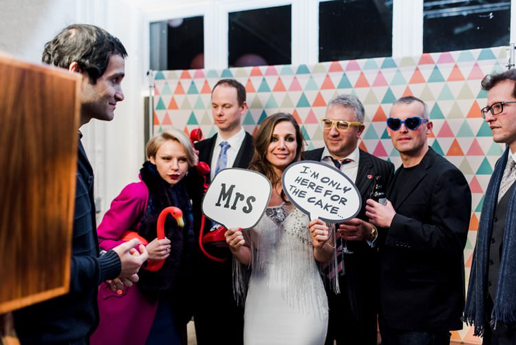Photobooth Props Bright Very Colourful Quirky Fun City Wedding London http://www.babbphoto.com/