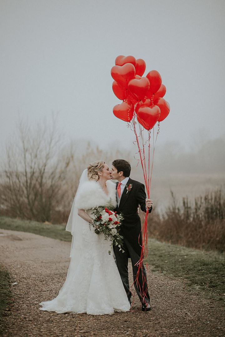Traditional Christmas Wedding Red Festive https://lolarosephotography.com/