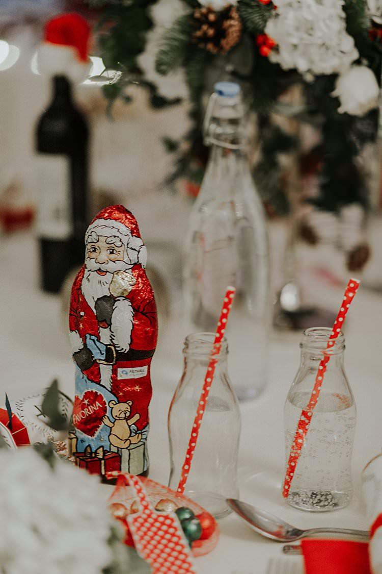 Milk Bottle Drinks Traditional Christmas Wedding Red Festive https://lolarosephotography.com/
