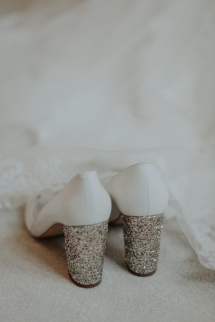 Glitter Shoes Bride Bridal Heel Traditional Christmas Wedding Red Festive https://lolarosephotography.com/