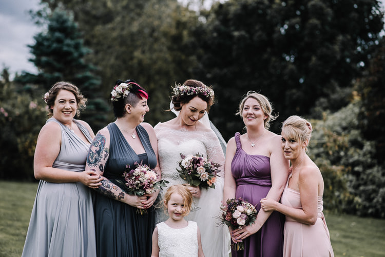 Multi Way Bridesmaid Dresses Luxe Rustic Autumn Berry Wedding http://www.oobaloosphotography.co.uk/