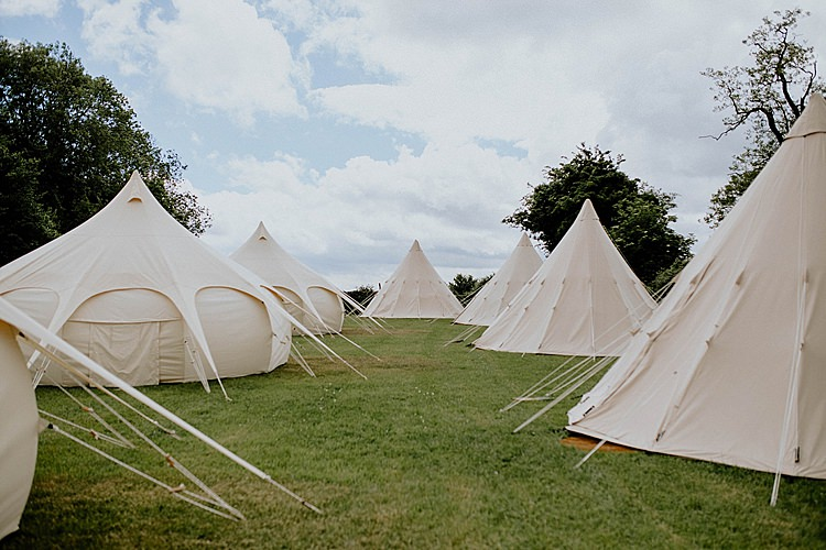 Bell Tent Glamping Mega Laid Back Festival Party Wedding http://www.jessicawilliams.photography/