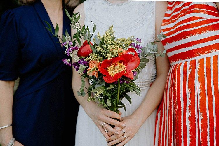 Wild DIY Bouquet Bride Bridal Flowers Mega Laid Back Festival Party Wedding http://www.jessicawilliams.photography/