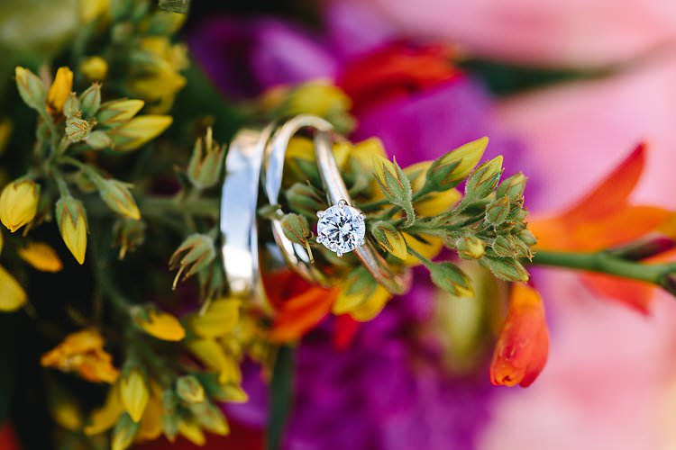 Solitaire Enagement Ring Diamond Tropical Countryside Tipi Wedding https://parkershots.com/
