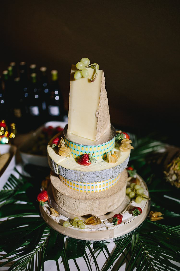 Cheese Tower Stack Cake Tropical Countryside Tipi Wedding https://parkershots.com/