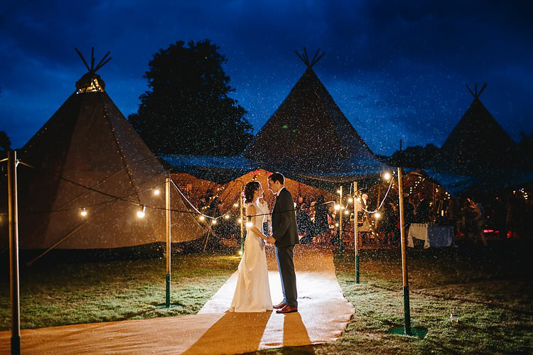 Festoon Lights Lighting Tropical Countryside Tipi Wedding https://parkershots.com/