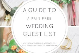 Wedding Guest List Advice How To Help