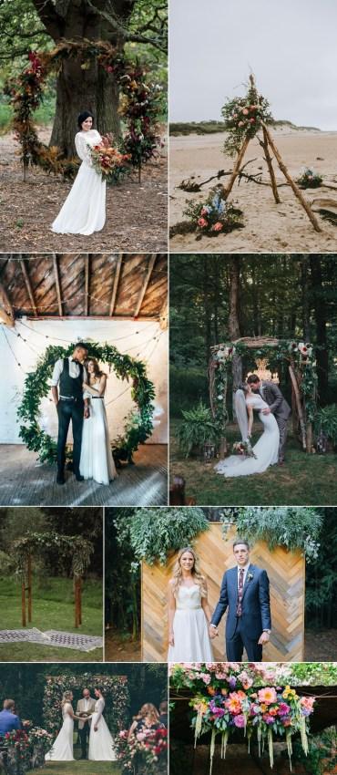 Wedding Flower Backdrop Arch Trends 2018