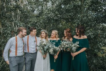 Whimsical Green Copper Rustic DIY Wedding http://www.brookrosephotography.co.uk/