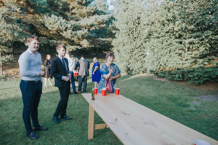 Beer Pong Whimsical Green Copper Rustic DIY Wedding http://www.brookrosephotography.co.uk/