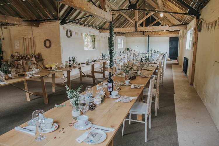 Barn Fairy Lights Decor Whimsical Green Copper Rustic DIY Wedding http://www.brookrosephotography.co.uk/