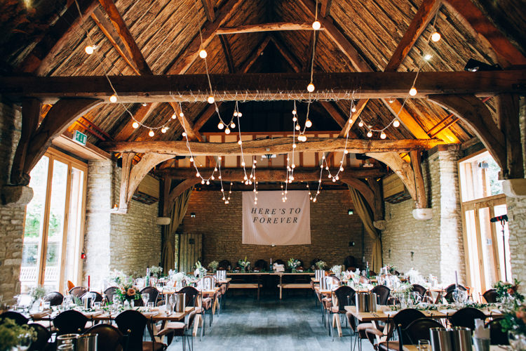 Barn Festoon Lights Banner Tapestry Backdrop Flowery Bohemian Secret Garden Wedding https://caseyavenue.co.uk/