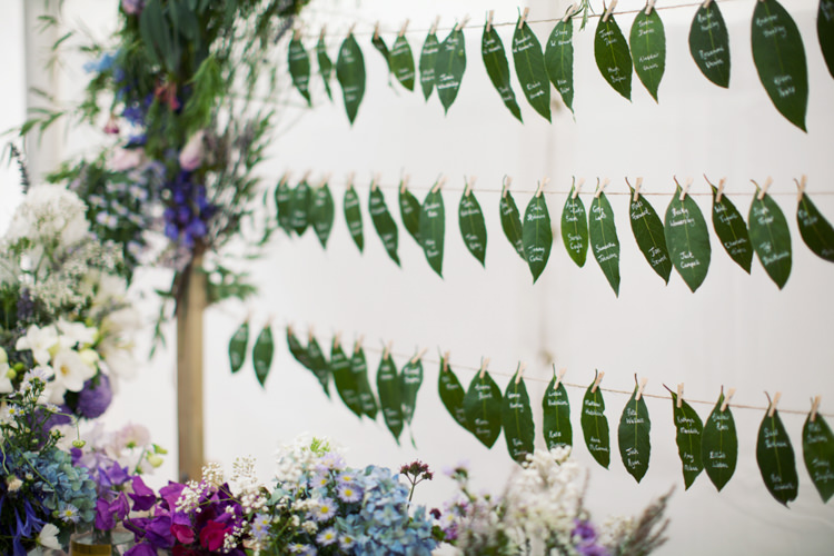 Leaf Peg Seating Chart Plan Table Relaxed Lavender Farm Marquee Wedding https://sashaleephotography.com/