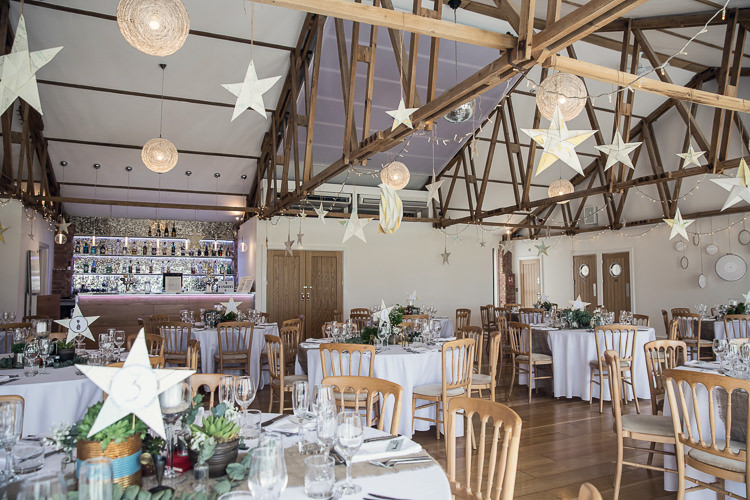 Stars Moons Ceiling Hanging Decor Heartfelt Celestial Handmade Wedding http://assassynation.co.uk/