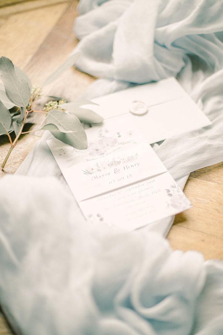 Stationery Envelope Invitations Beautiful Fine Art Country House Wedding Ideas https://www.theblushingpeony.co.uk/