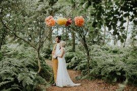 Happy Outdoor Forest Mustard Yellow Wedding http://suzi-photography.com/