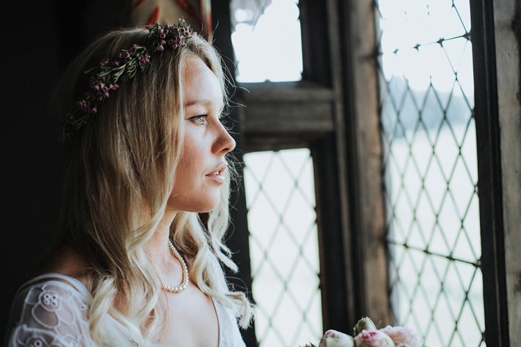 Hair Make Up Bride Bridal Rustic Homespun Country Chapel Barn Wedding Sussex http://www.olegssamsonovsphotography.com/