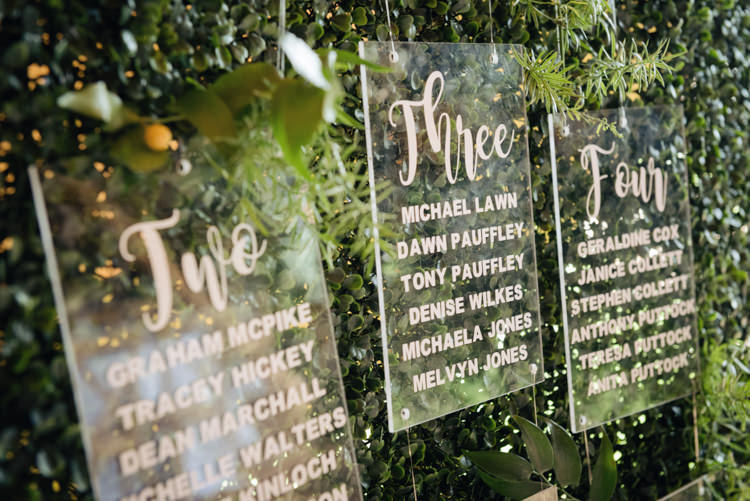 Acrylic Perspex Stationery Signs Table Plan Seating Lettering Calligraphy Pretty Blush Floral Tipi Wedding Ideas https://www.sarahvivienne.co.uk/