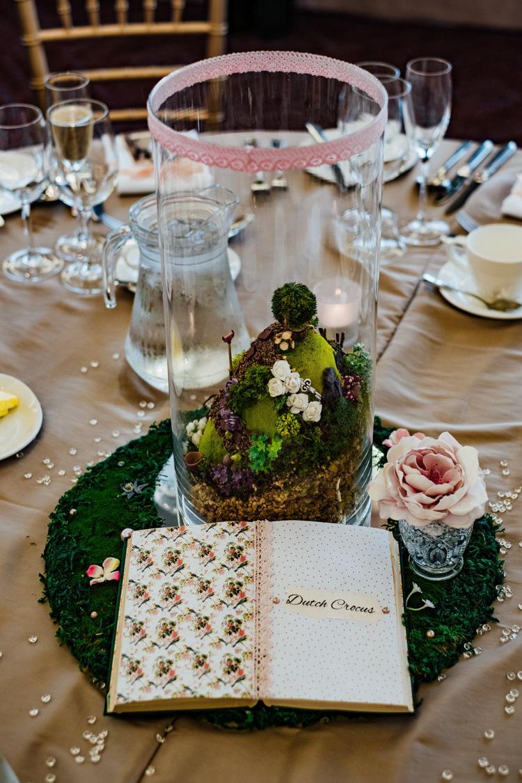 Micro Garden Table Centre Details Miniature Boho DIY Secret Garden Wedding https://bibandtuckerphotography.co.uk/