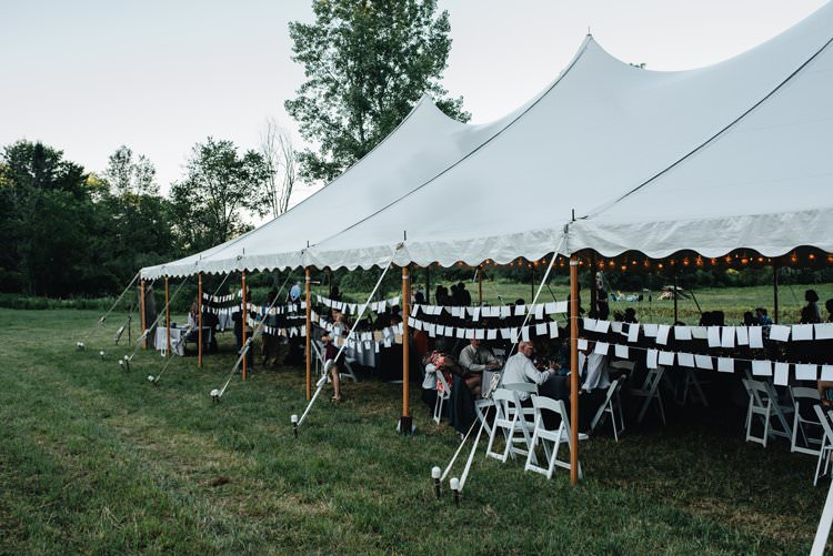 Outdoor Field Forest Wild Nature Floral Arch Bride Marquee Tipi | Breathtaking Secluded Back Garden Open Sided Tent Wedding Vermont https://kickasscouples.com/