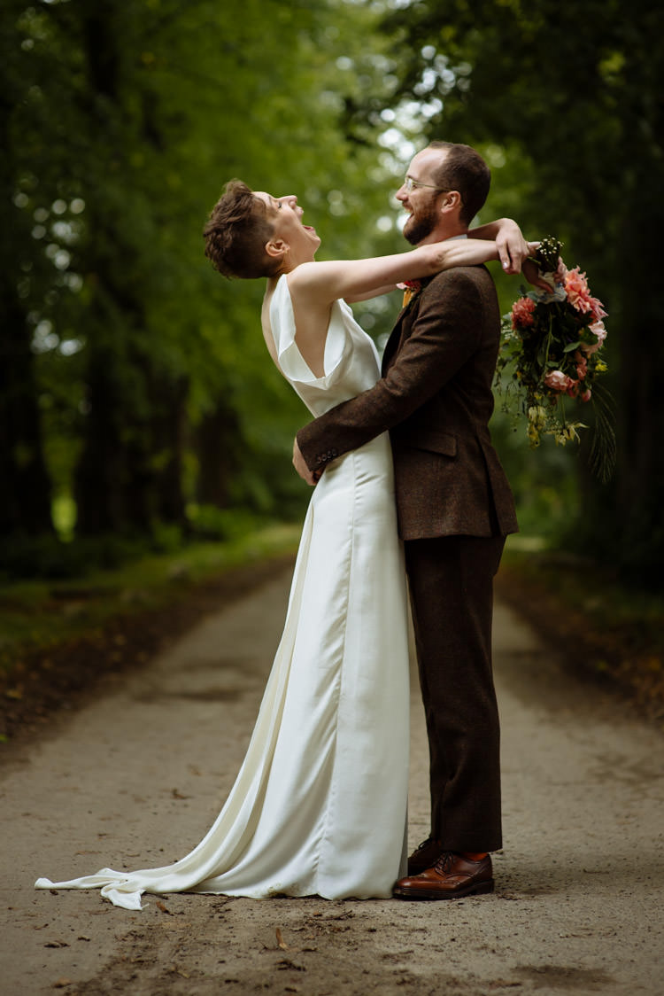 DIY Bride Groom Alternative Hippy Forest Farm Field Garden Wedding Wildflower | Homegrown Community Eclectic Rural Yorkshire Wedding https://toastofleeds.co.uk/